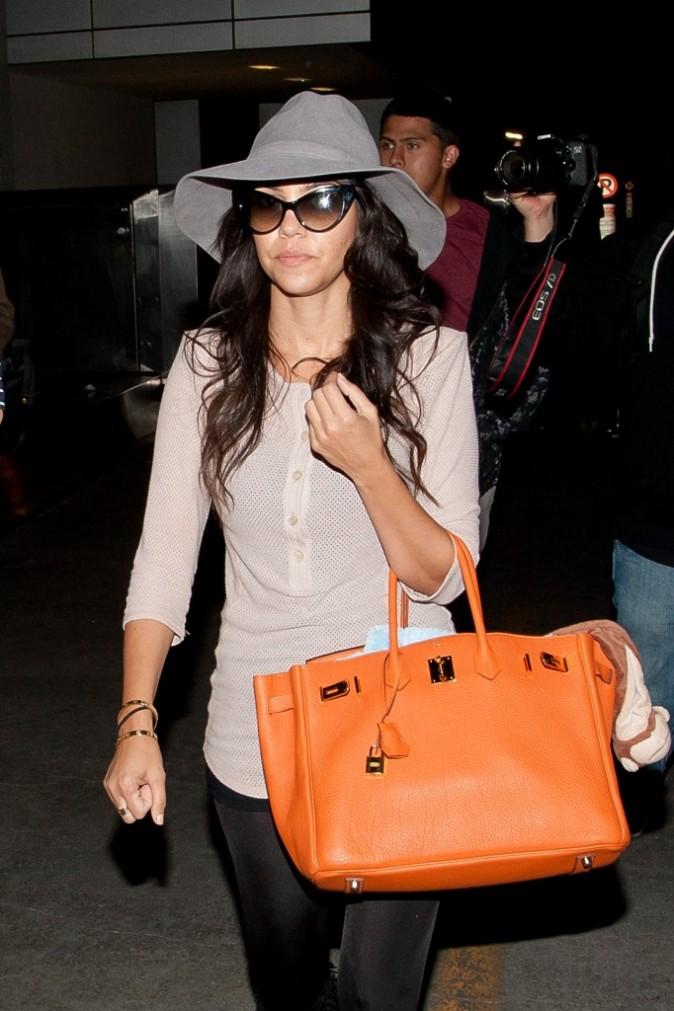 2011: Kourtney à l'aéroport !