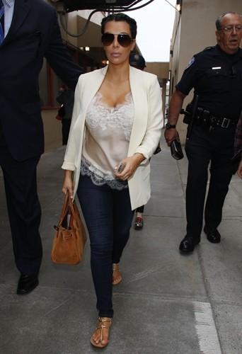 Kim Kardashian, le 13 avril 2013.