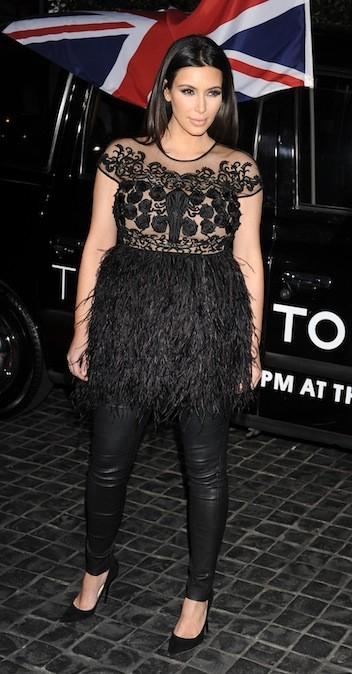 Kim Kardashian, le 13 février 2013