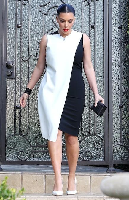 Kim Kardashian, , le 21 février 2013