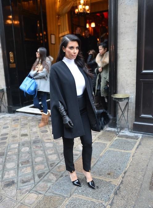 Kim Kardashian, le 22 janvier 2013