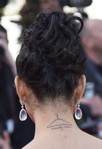 Chanel Iman, le mardi 21 mai 2013 au Festival de Cannes !
