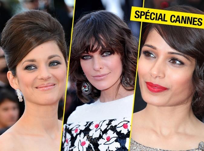 Focus sur les plus belles coiffures du Festival de Cannes 2013 !