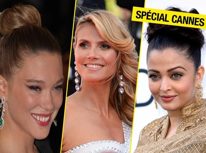Focus sur les plus belles coiffures du Festival de Cannes ! (Suite)
