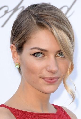 Jessica Hart, le jeudi 23 mai 2013 au Festival de Cannes !