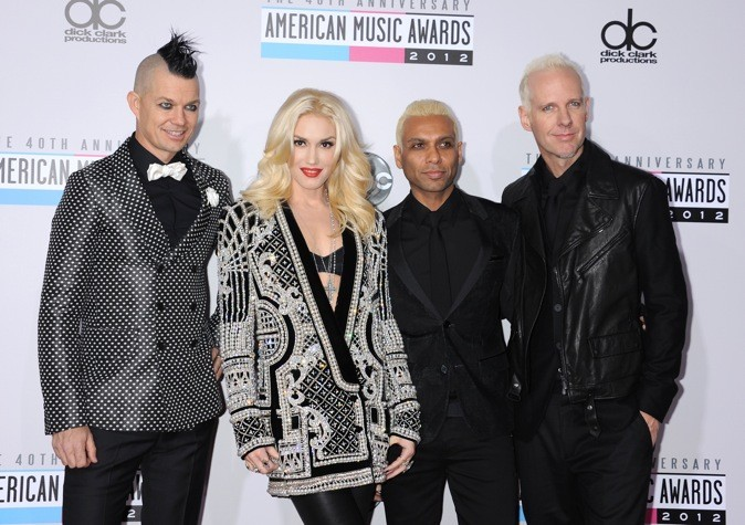No Doubt aux American Music Awards
