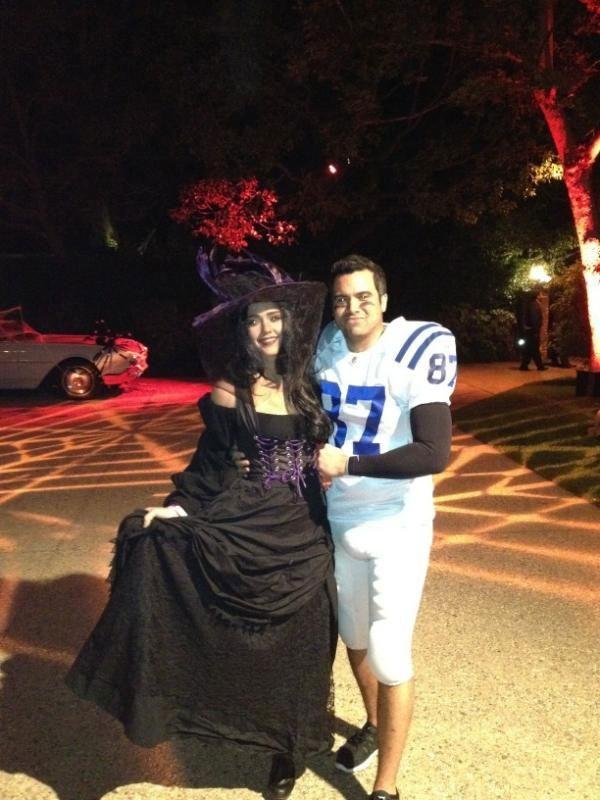 Jessica Alba et Cash Warren, sorcière et footballeur