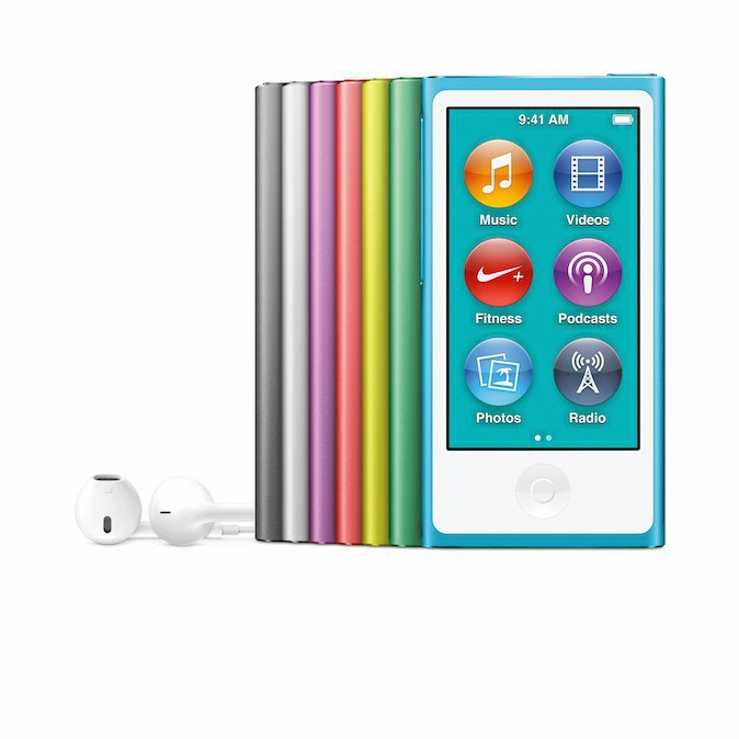iPod Nano VII, Apple 179 €