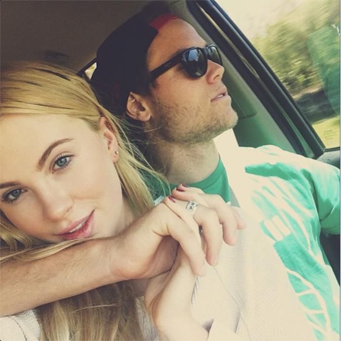 Ireland Baldwin et son boyfriend Slater Trout