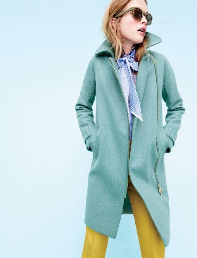 La nouvelle gamme de manteaux J.Crew