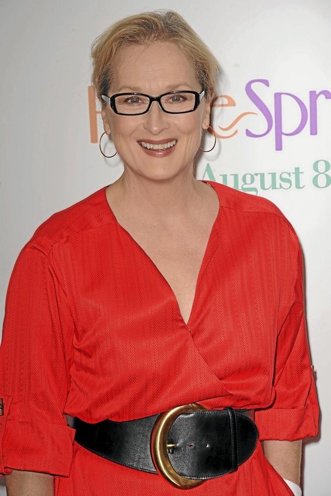 B- Meryl Streep