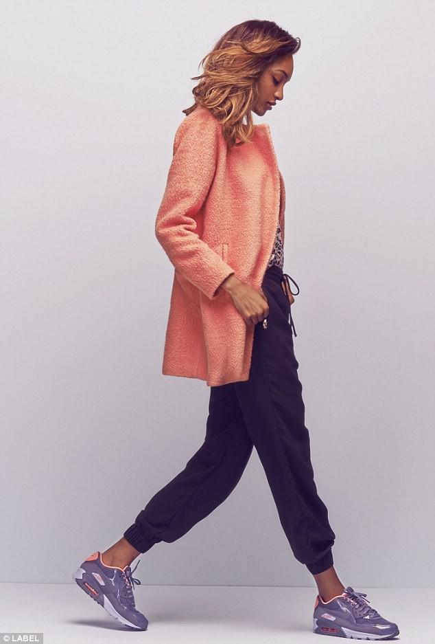 Jourdan Dunn : une égérie sportswear chic pour Label !