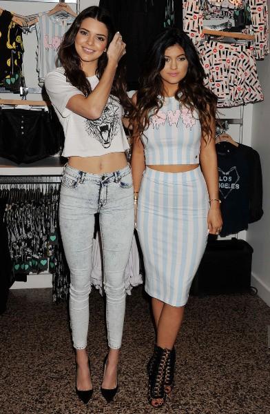 Kendall et Kylie Jenner pour Pacsun