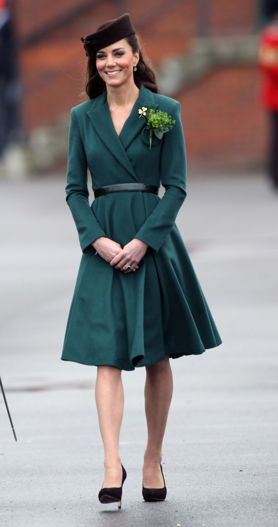 Chapeau et robe assortis pour la Saint-Patrick