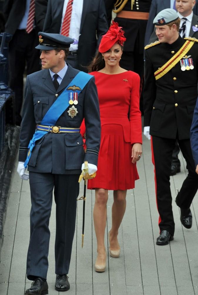 Le prince William et Kate Middleton lors du jubilé de la reine Elisabeth II