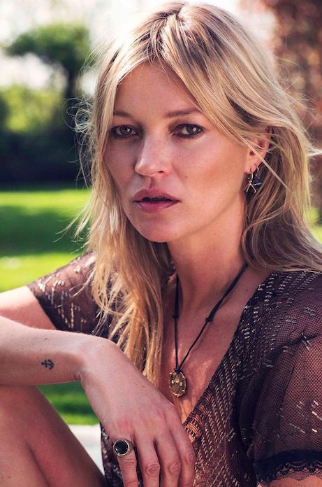 Kate Moss : Le top lance sa propre ligne de bijoux !