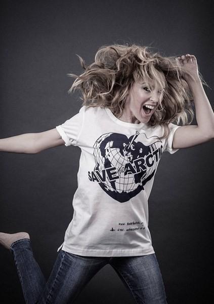 Kylie Minogue pour Save The Arctic