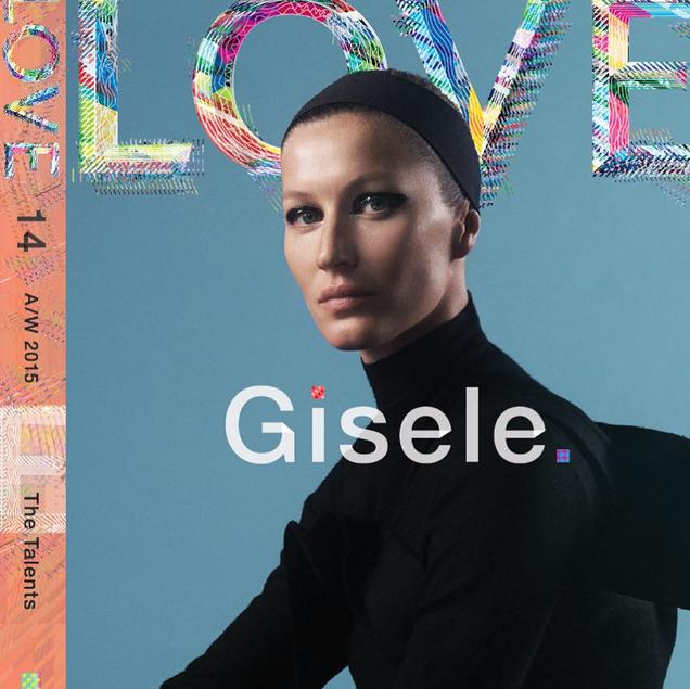 Gisele pour Love Magazine