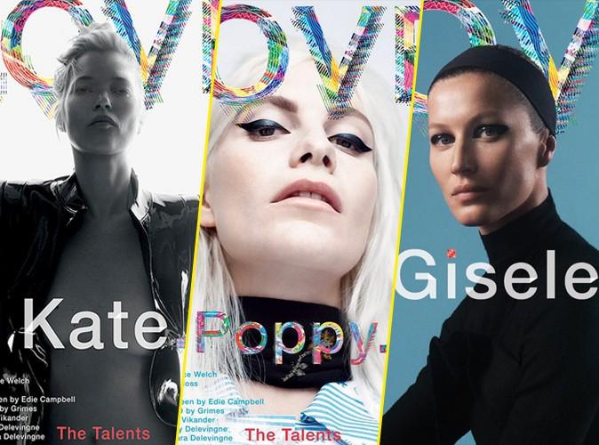 Photos : Kate Moss, Poppy Delevingne, Gisele Bündchen : toutes en une de Love Magazine !