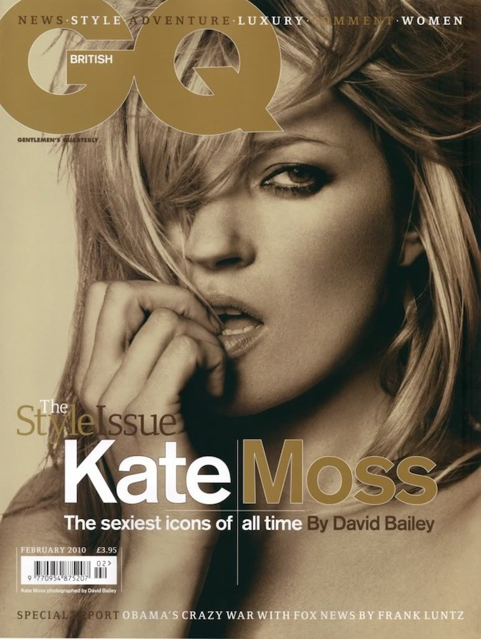 Kate Moss pour GQ