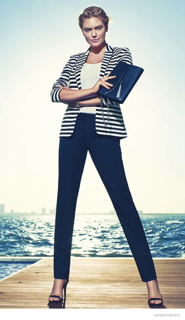 Kate Upton : séductrice et lumineuse dans la nouvelle campagne Express !