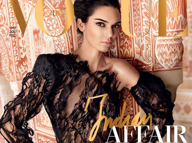 Kendall Jenner : Découvrez pourquoi sa couverture du Vogue India fait polémique