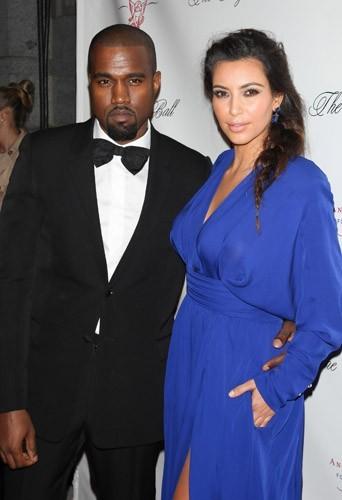 Kim et Kanye, très amoureux