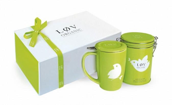 Coffret thé, Lov Organic. 41,90 €.