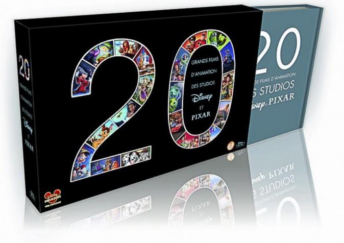 Coffret Disney Pixar 20 fi lms 134,99 €