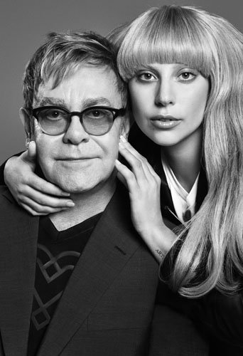 Elton John et Lady Gaga
