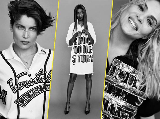 Photos : Laetitia Casta, Karidja Touré, Mathilde Seigner... : toutes habillées par Lacoste et Lesage !