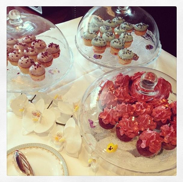 Cupcakes et friandises, Rimmel régale ses invités !