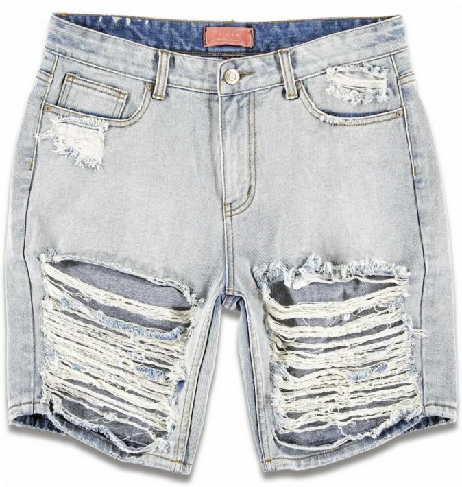 Bermuda en jean déchiré, Forever 21, 19 €.