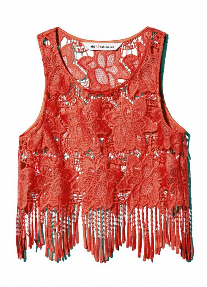 Top en crochet, H&M Loves Coachella, 17,99 €