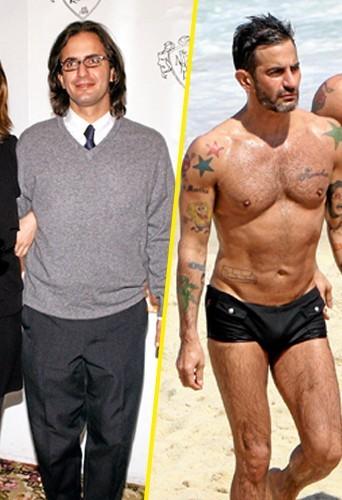 Marc avant en janvier 2004 et Marc après en avril 2012 ! Vive le Coca Light !