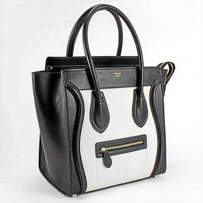 Sac Luggage en cuir bicolore, Céline 1 400 €