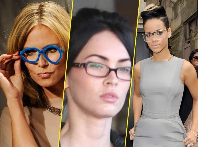 Look : Les stars à lunettes : Ringard ou tendance ?
