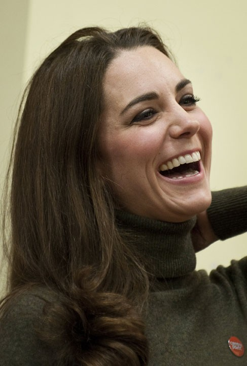 Les cheveux de Kate Middleton