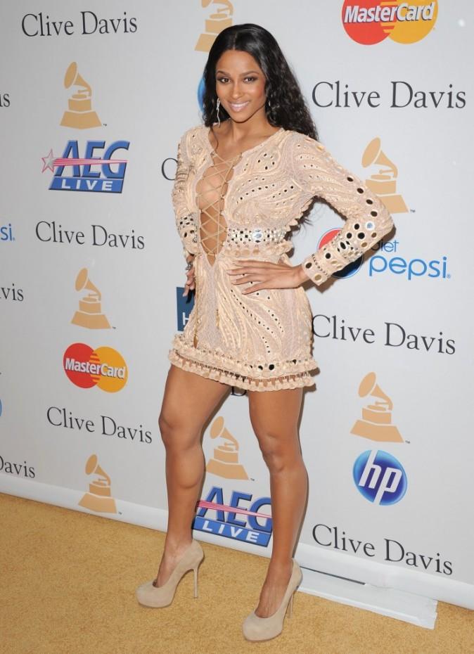 Look : Ciara se dénude aux pre-Grammy Awards 2011