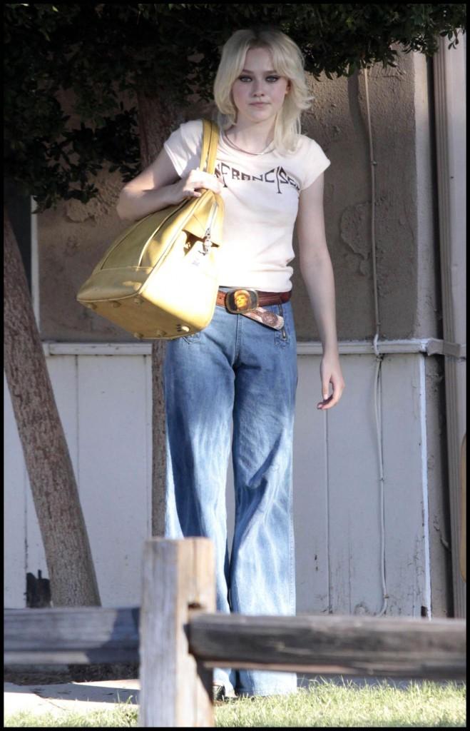Février 2009 : blonde platine