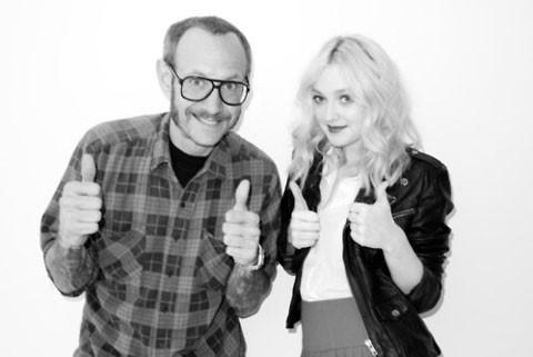 Dakota Fanning avec Terry Richardson