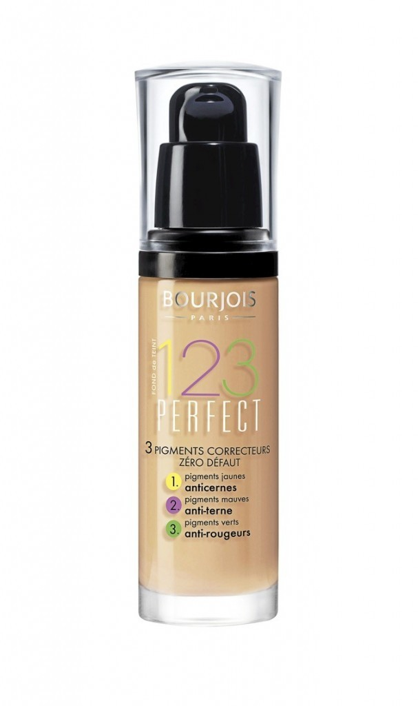 Fond de teint 123 Perfect, Bourjois 14,45 €