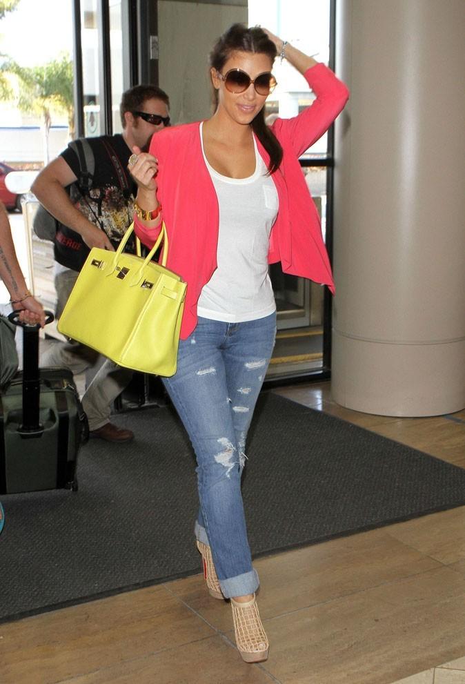 Le Birkin jaune de Kim Kardashian !
