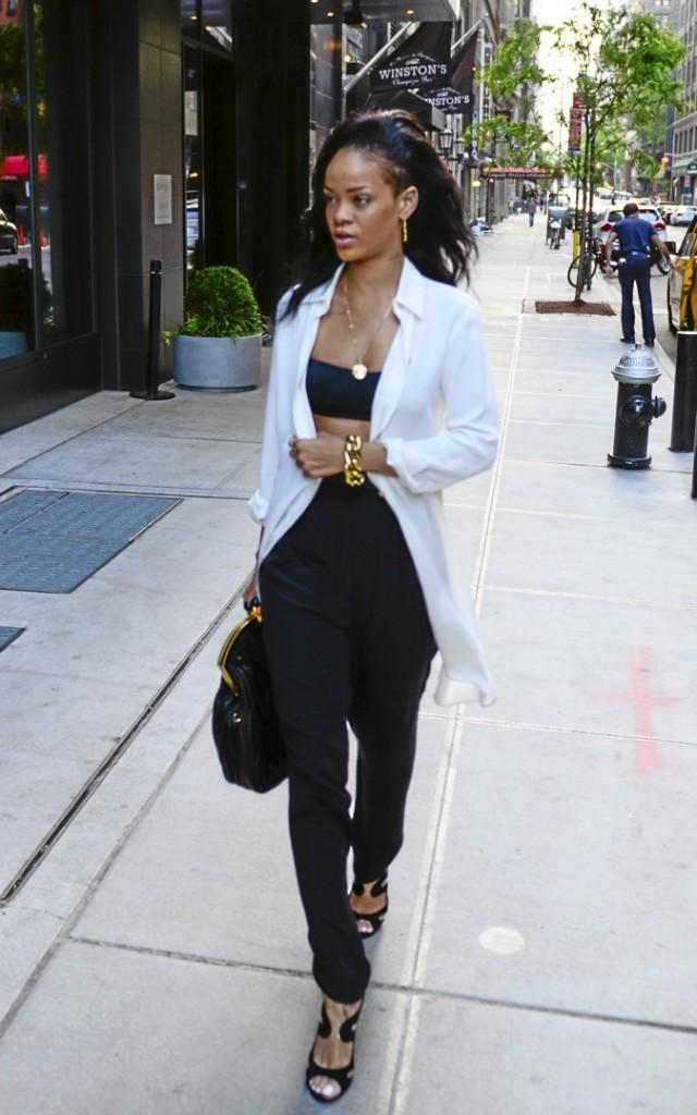 Rihanna : du chic et du choc !