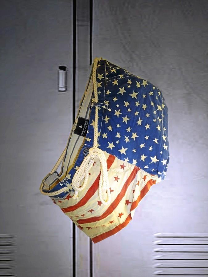 Short drapeau américain, Maison Scotch 85 €