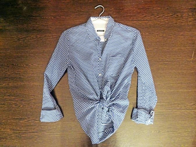 Chemise en coton, Marc O'Polo aux Galeries Lafayettes. 89€