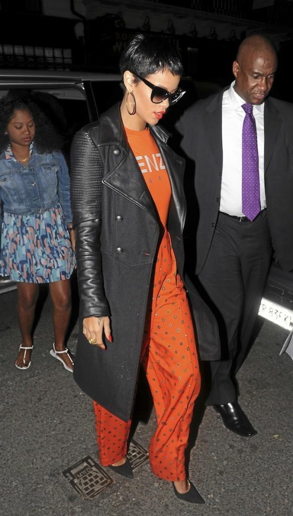Rihanna. Une fille sous Perf' !