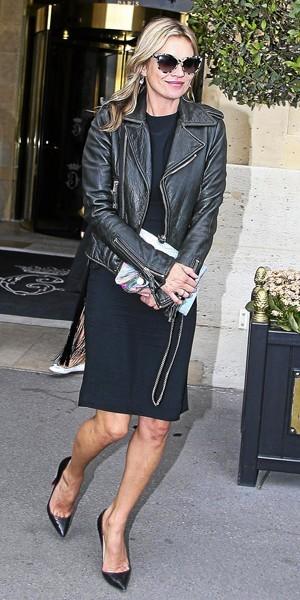 Kate Moss : L'élégance rock.
