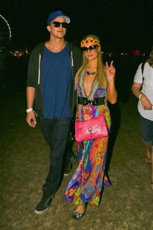 Paris Hilton le week end dernier : Sublime aux côtés de son boyfriend !