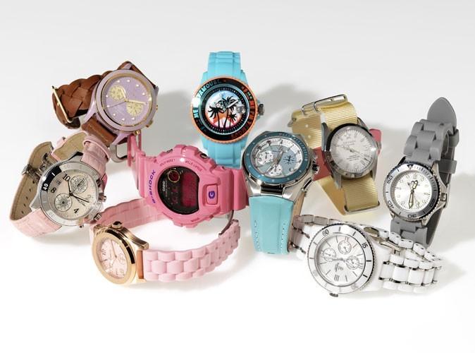 Notre shopping, les montres de l'été